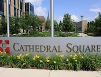 A photo of Cathedral Square