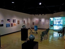 A photo of GRCC Collins Art Gallery