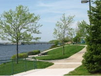 A photo of Canal Street Park