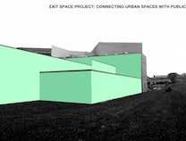 A photo of UICA Exit Space at GRB