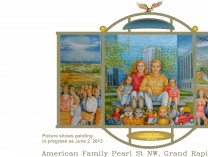 A photo of American Family, Pearl St NW, Grand Rapids, MI 49504