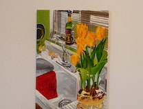 Photo of Tulips in the Kitchen