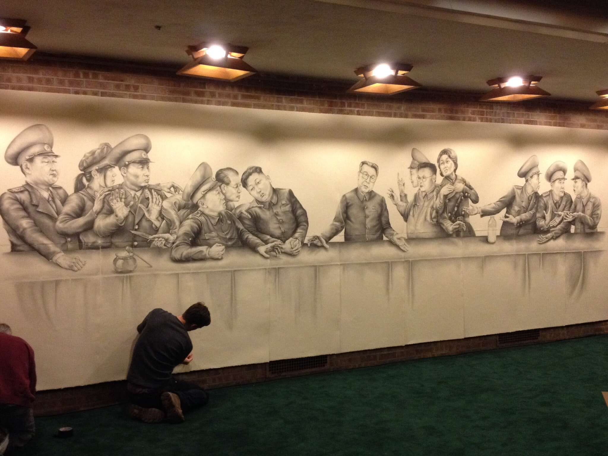 Jason Rogers Last Supper in the DPRK ArtPrize Entry Profile